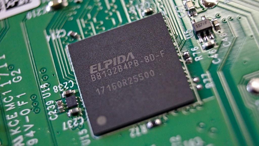 """""""Raspberry Pi 3 B8132B4PB-8D-F DDR3 RAM IC"""" by adlerweb is licensed under CC BY 2.0"""