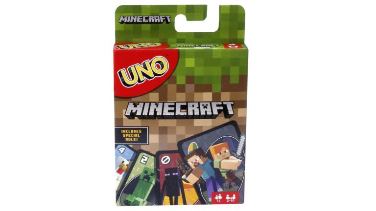 uno minecraft card game deal