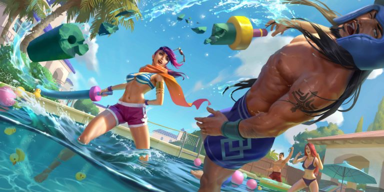 Legends of Runeterra Patch 2.10.0 brings bug fixes and Pool Party cosmetics