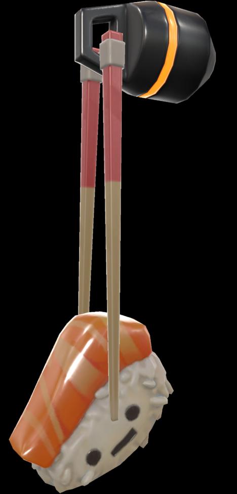 SalmonNigiri SideView 1