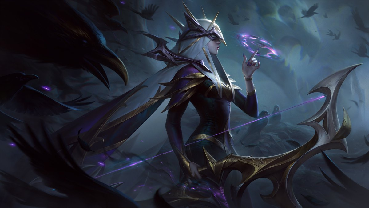Coven skins for Ashe, Evelynn, Ahri, Malphite, Warwick, Cassiopeia revealed  for League of Legends | Dot Esports
