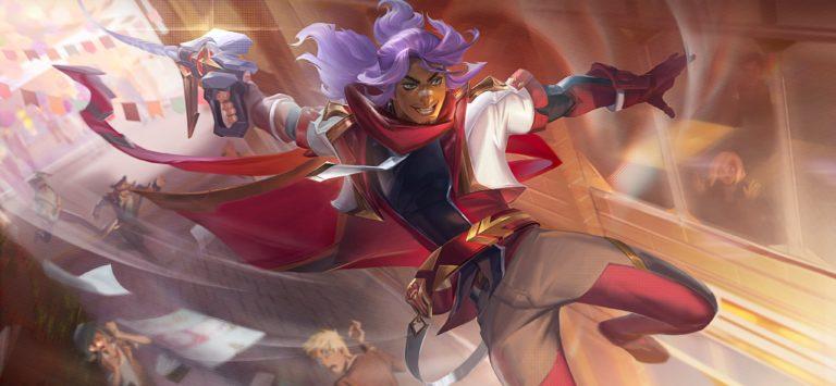 Battle Academia Akshan