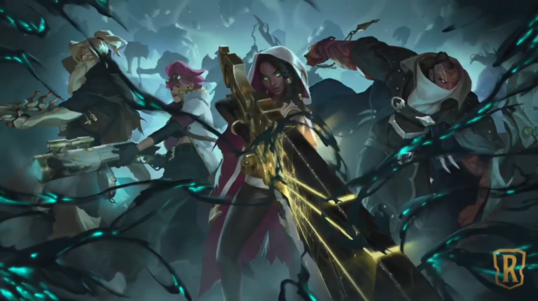 Legends of Runeterra teases level 1 and 2 art for upcoming Senna champion card