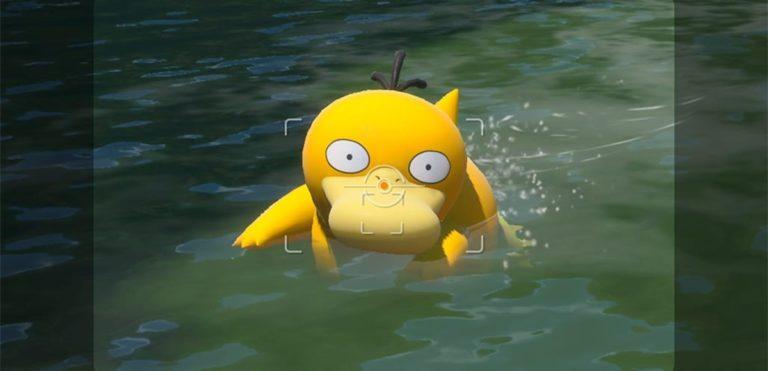 Psyduck New Pokemon Snap update