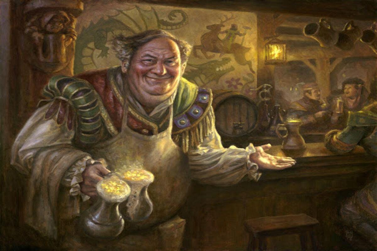 MTG Edgewall Innkeeper by Matt Stewart