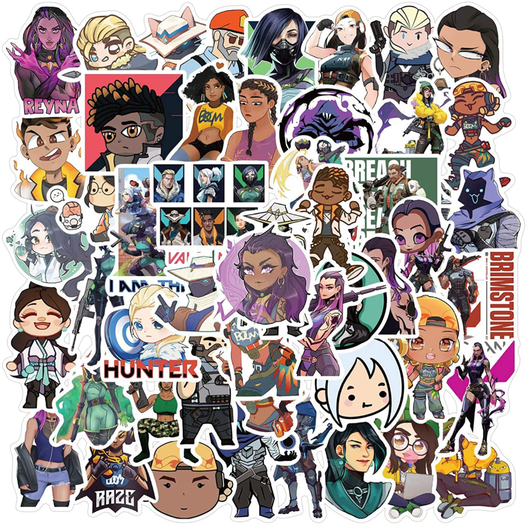 Fan VALORANT Stickers