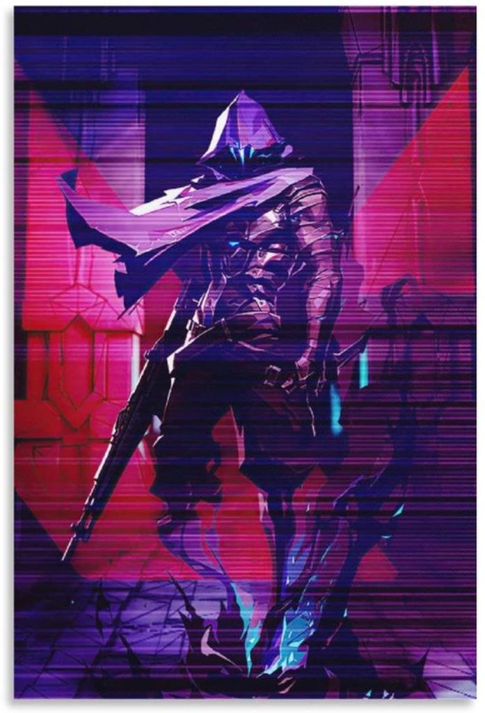 VALORANT Game Artwork Canvas Art Poster