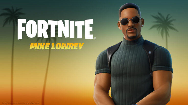 Will Smith's Mike Lowrey Outfit available in Fornite's Item Shop