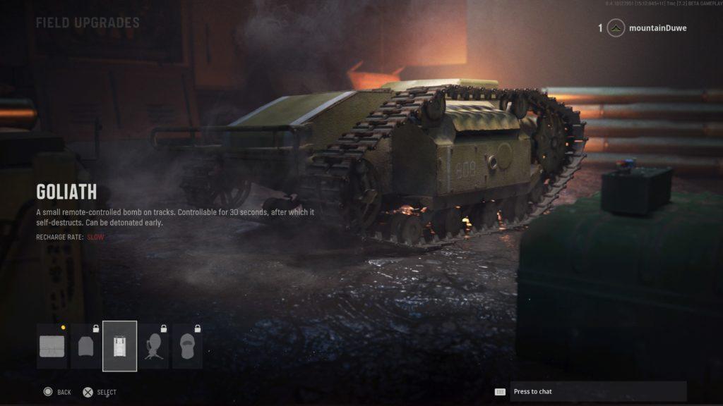 Вся экипировки и полевые улучшения в Call of Duty: Vanguard