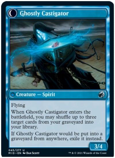 Covetous Castaway Backside Ghostly Castigator