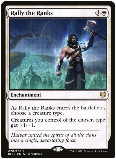 Rally the Ranks