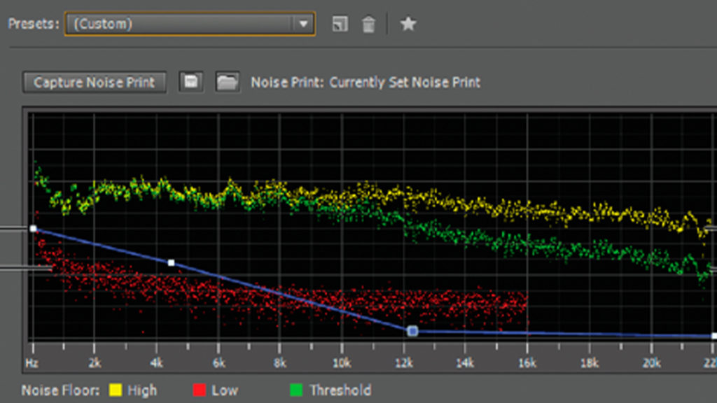 Adobe Audition noise waveforms