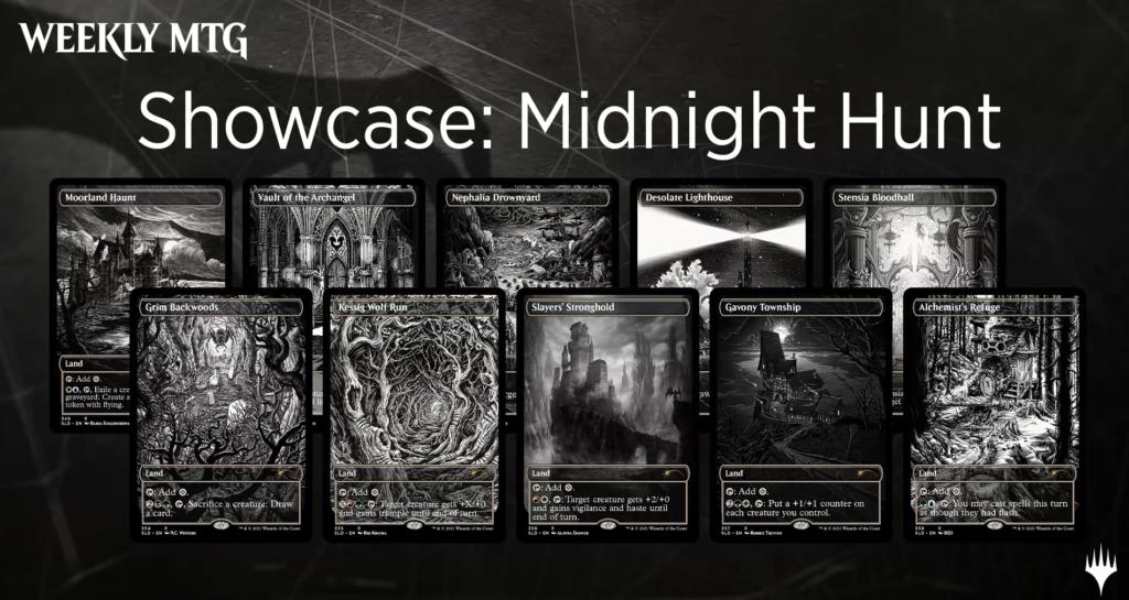 MTG Secret Lair Showcase Midnight Hunt