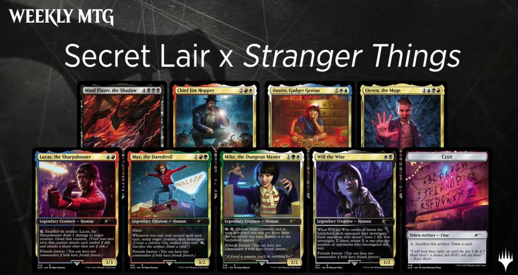 MTG Secret Lair Stranger Things