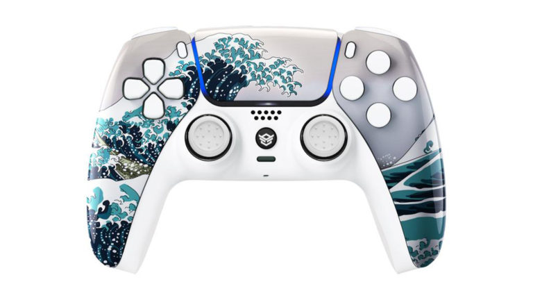 HexGaming PS5 Rival Great Wave