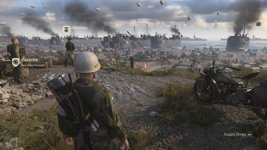 Download Call of Duty WWII Build 7831931 +DLC Cracked Torrent Direct Link PC Cover 3