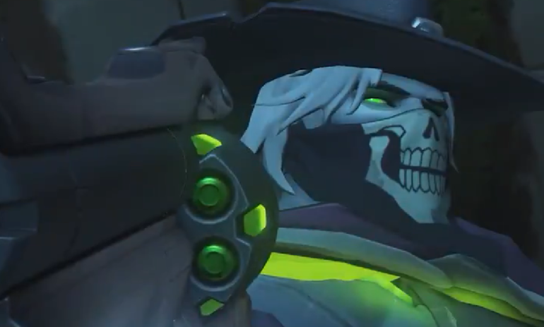Visual McCree Morto-Vivo de Overwatch para Terror de Halloween