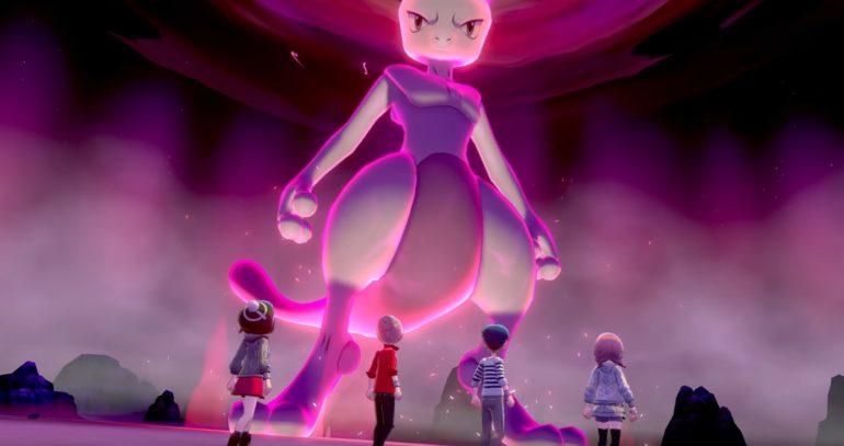 Mewtwo e iniciais de Kanto disponíveis nas Max Raid Battles de Pokémon Sword & Shield