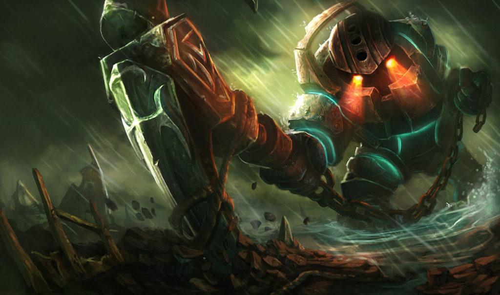Nautilus cresce das plantas de Zyra em novo meme de desenvolvedores da Riot