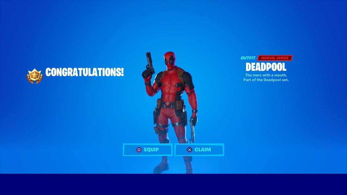 Desafios de Deadpool da semana 7 não estão aparecendo para alguns jogadores de Fortnite