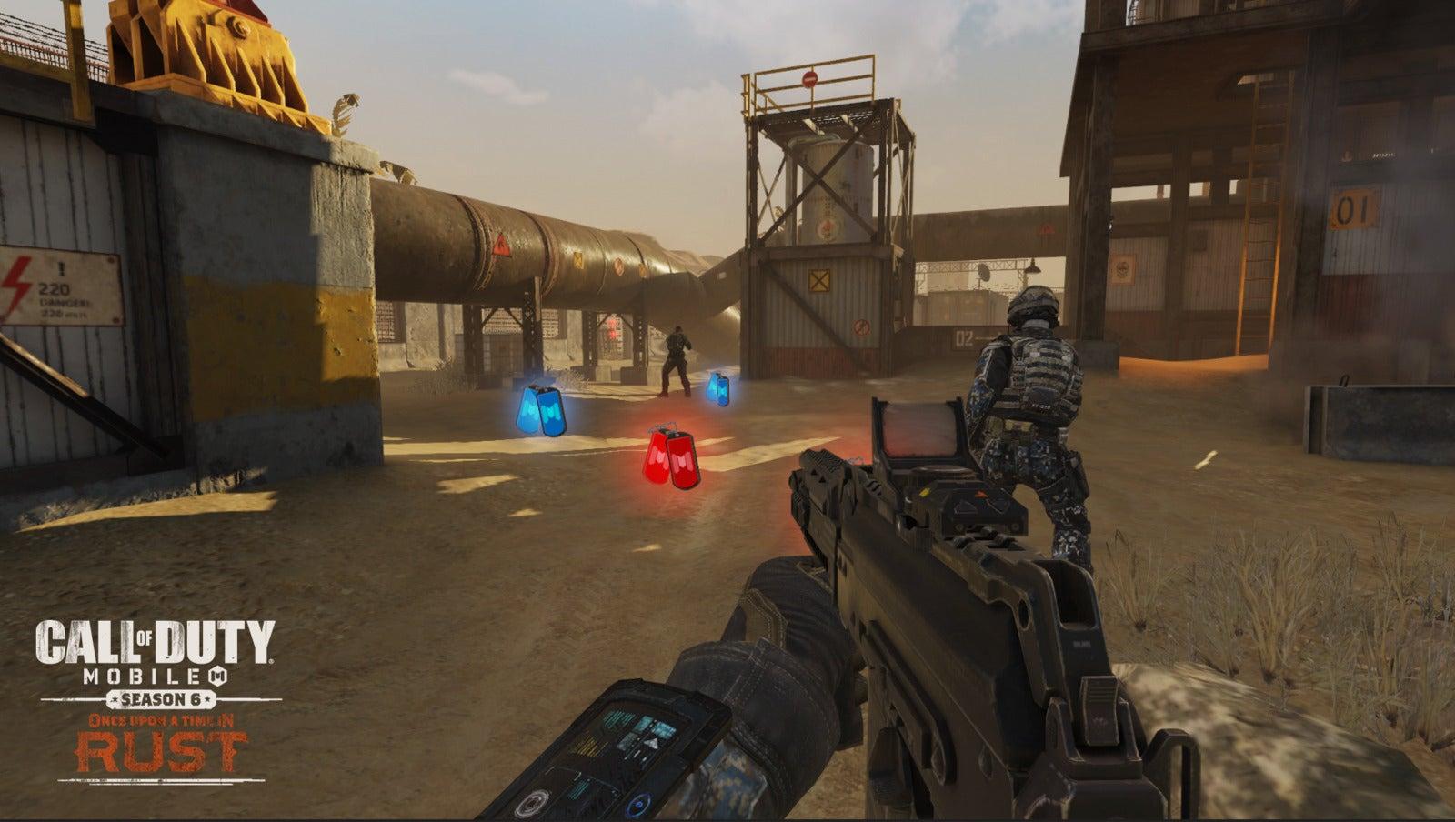 Confira as notas de atualização da temporada 6 de Call of Duty: Mobile