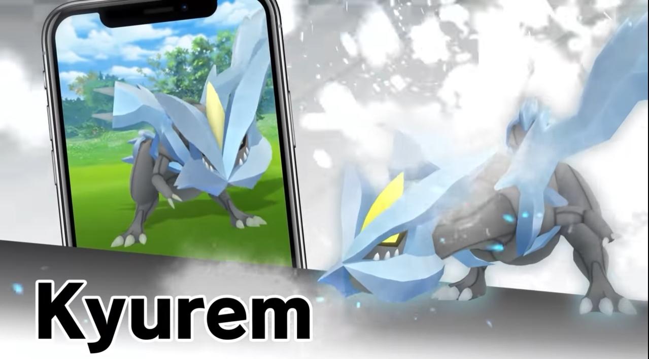 Como derrotar e capturar Kyurem em Pokémon Go