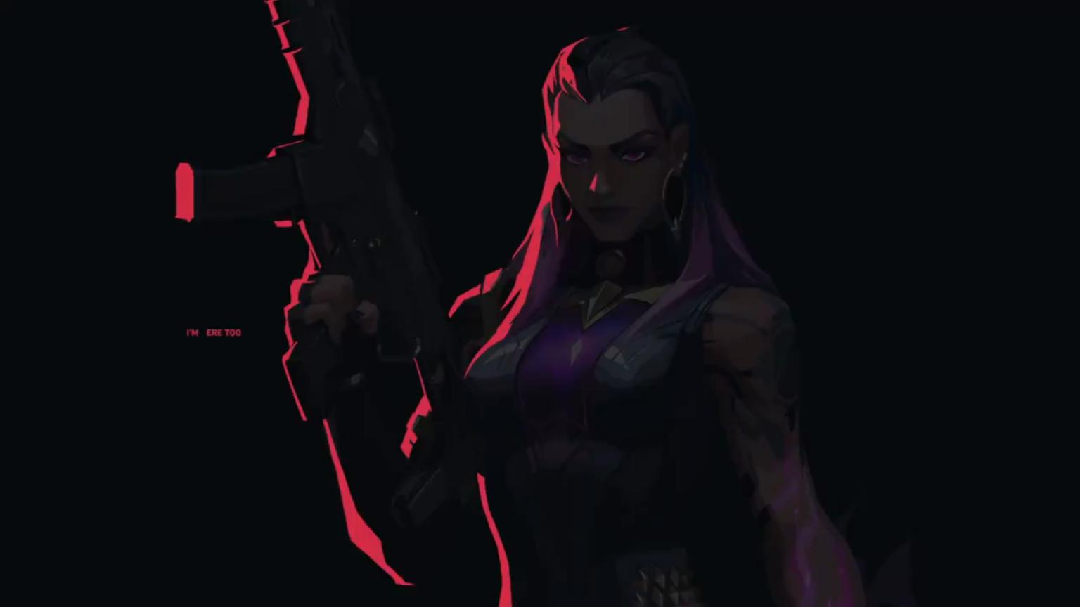 A nova agente de VALORANT é revelada em vídeo no Twitter, e ela é muito roxa
