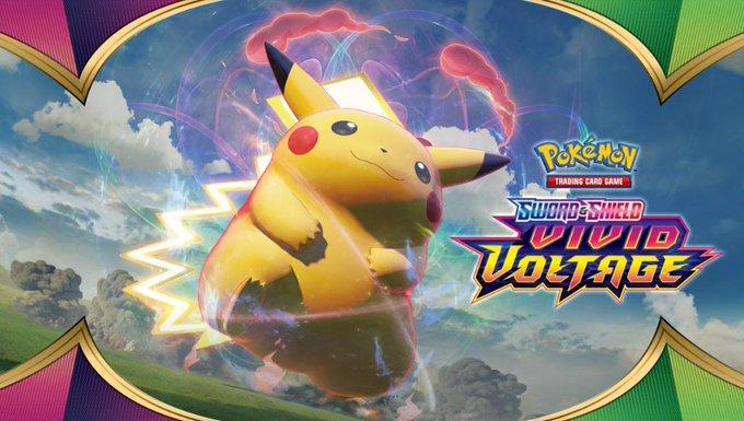 Nova expansão de Pokémon Estampas Ilustradas Espada & Escudo, Vivid  Voltage, será lançada em novembro | Dot Esports Brasil