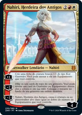 Malho dos Enclaves Celestes, nova carta de Magic, é perfeita para decks agressivos com Nahiri | Dot Esports Brasil
