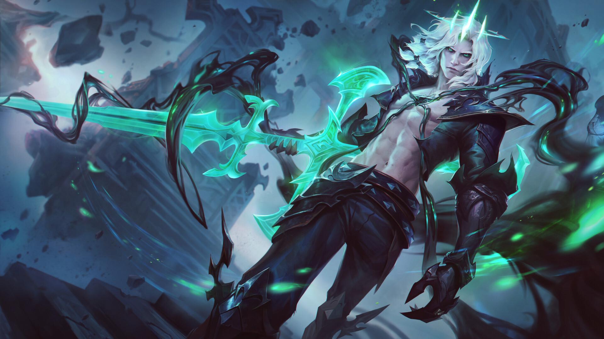 Viego, o Rei Destruído, será o novo lançamento de campeão de League of Legends. O personagem novo foi anunciado pela Riot na abertura da Season 11.