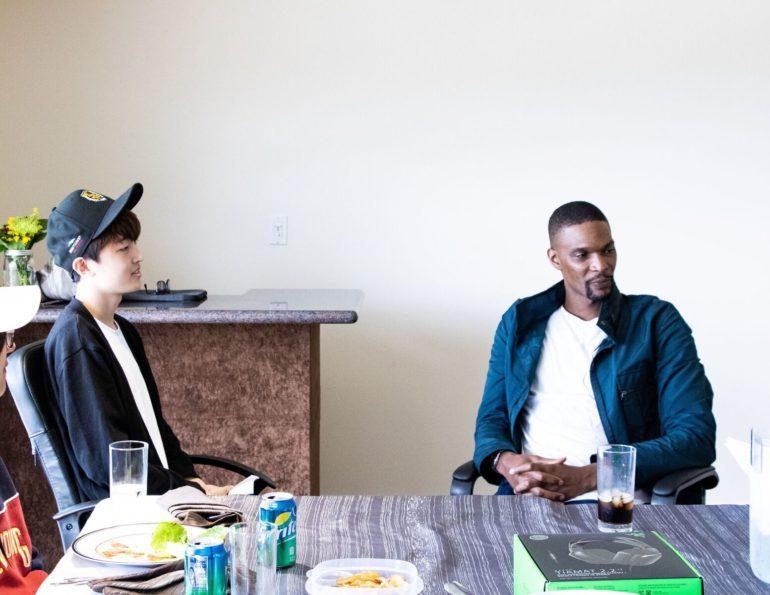 El campeón de la NBA, Chris Bosh, hará de mentor para los jugadores de Gen.G