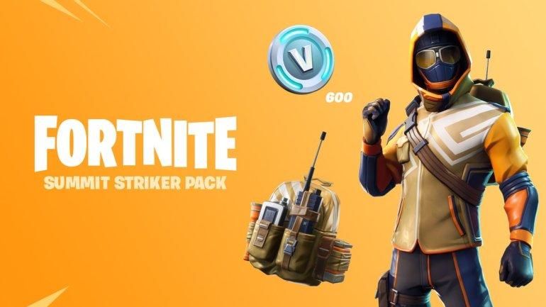 El aspecto de Fortnite Summit Striker no está basado en Summit1G