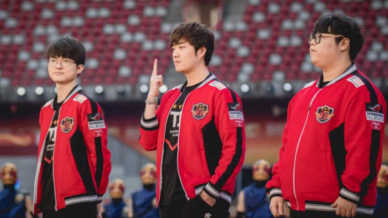 Faker, Bang y Wolf con SK Telecom T!