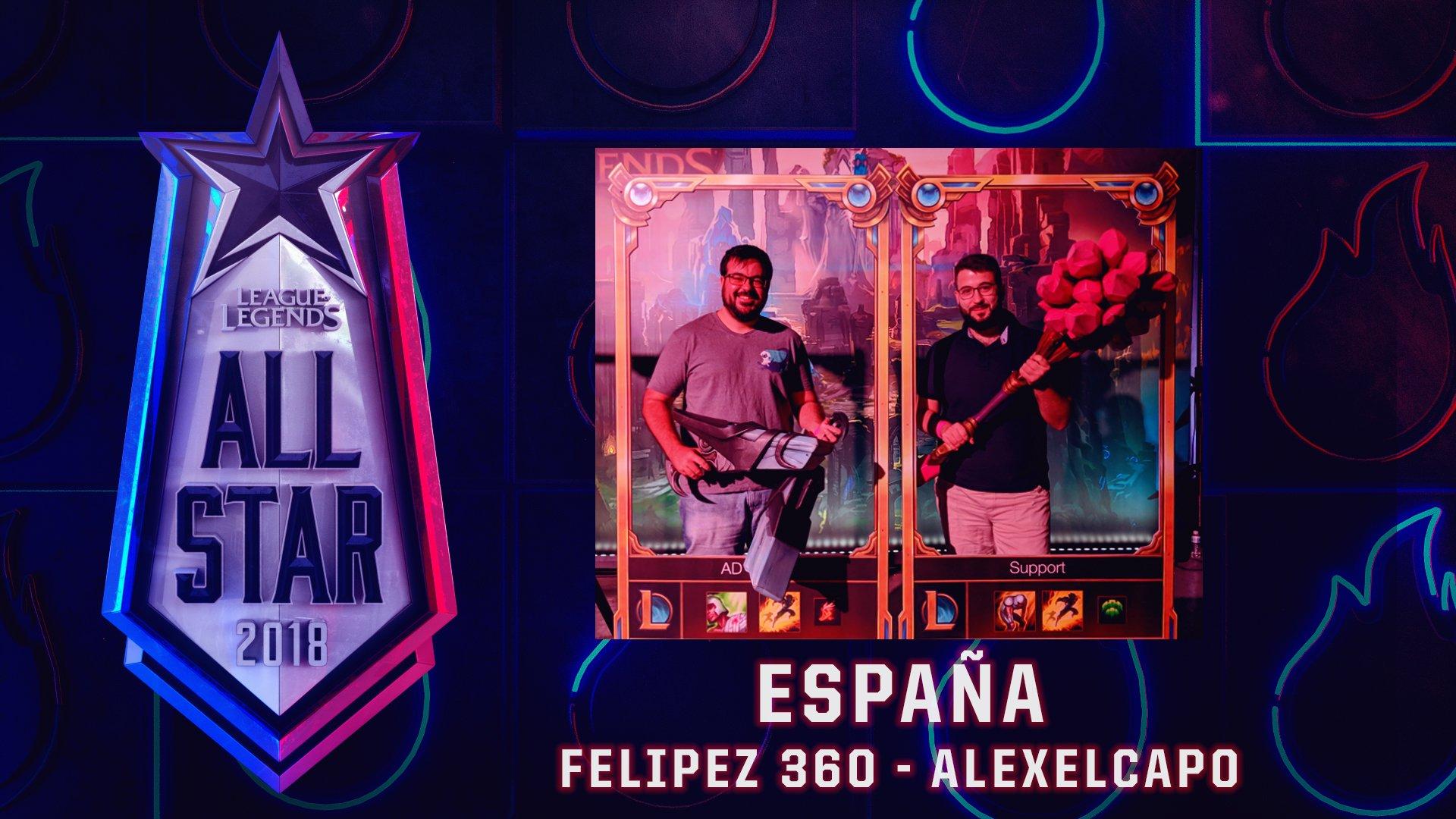 Alexelcapo y Felipez360 estarán presentes en All-Star