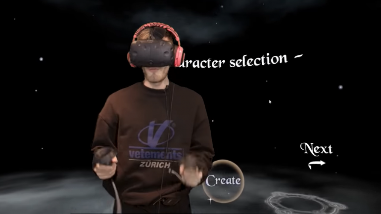 PewDiePie VR
