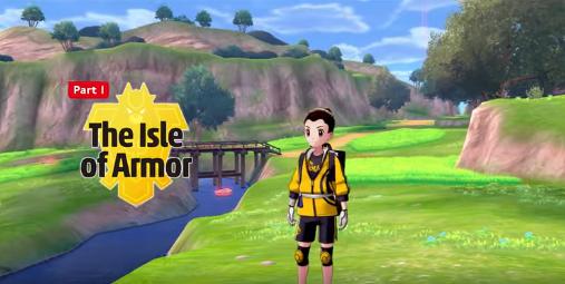 Nuevo avance de Nintendo sobre el primer pase de expansión de Pokémon Espada y Escudo