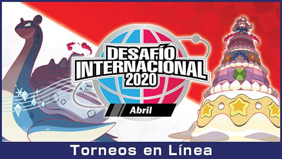 Ya puedes inscribirte en el Desafío Internacional 2020 Abril de Pokémon Espada y Escudo