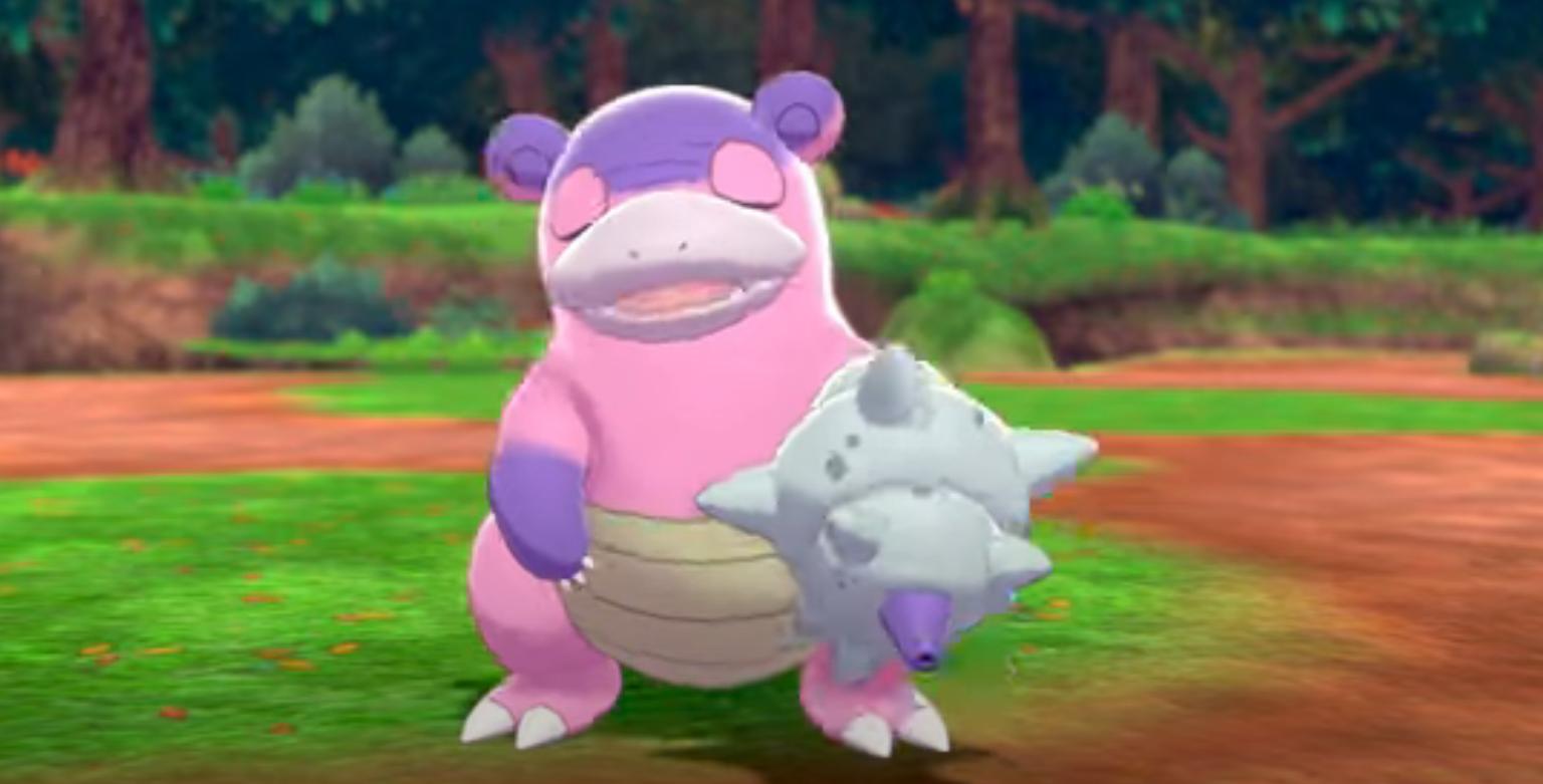 Al fin se reveló Slowbro de Galar en Pokémon Espada y Escudo