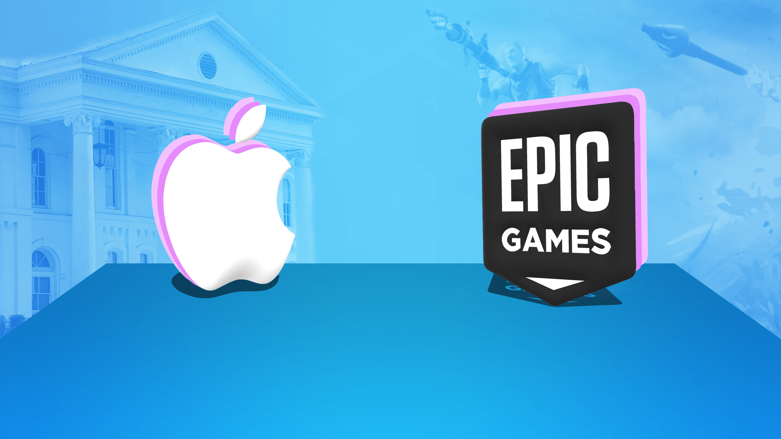 Epic Games sale vencedor en la demanda contra Apple