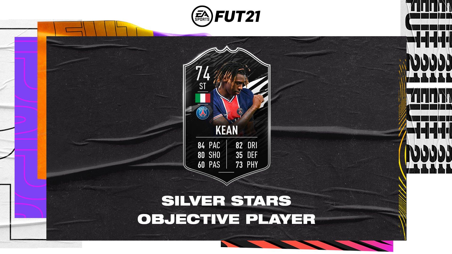 comment compléter les objectifs de kean silver stars dans